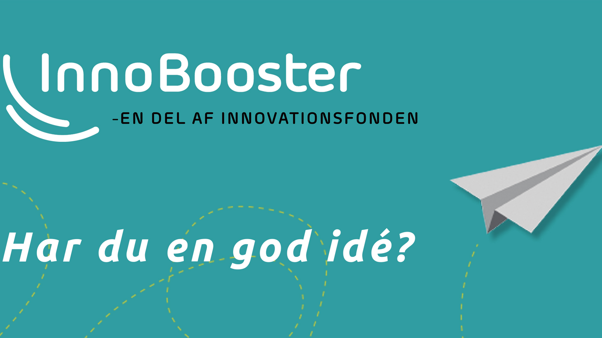 logo til innovationsfondens innobooster program