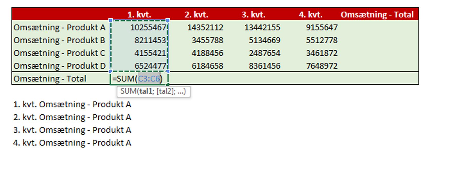 F U00e5 4 Tips Til Dine Excel Regneark  - Kurser