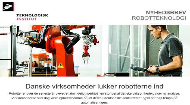 Newsletter robot2
