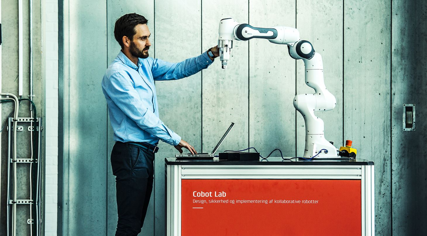 Kollaborative robotter i Teknologisk Instituts Cobot Lab