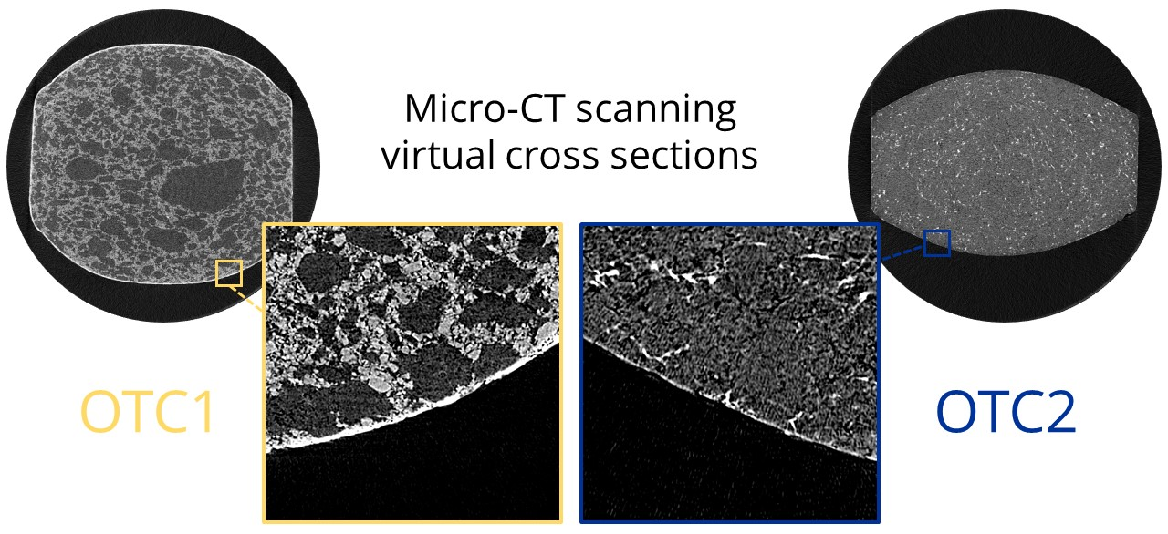 illustration of microCT cross sections in pharmaceutical products